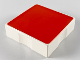 Part No: 6309p10  Name: Duplo Tile 2 x 2 with Shape Red Square Pattern