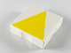 Part No: 6309p11  Name: Duplo Tile 2 x 2 with Shape Yellow Isosceles Triangle Pattern