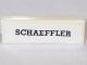 Part No: 63864pb069  Name: Tile 1 x 3 with 'SCHAEFFLER' Logo Pattern (Sticker) - Set 75887