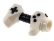 Part No: 65080pb02  Name: Minifigure, Utensil Game Controller, Holes on Sides for Bar with Black Buttons and Center Handle Pattern