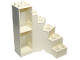 Part No: 6511  Name: Duplo Building Stairs with Drawer Slots