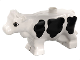 Part No: 6673pb01  Name: Duplo Cow Adult Second Version with Udder and Black Spots