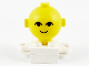 Part No: 685px1c01  Name: Homemaker Figure Torso Assembly and Yellow Head with Eyes and Smile Pattern