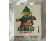 Part No: 76371pb198  Name: Duplo, Brick 1 x 2 x 2 with Bottom Tube with Elf and gifts Legoland Discovery Center 2016 Pattern