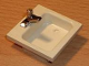 Part No: 840c01  Name: Homemaker Washbasin Sink with Chrome Silver Tap