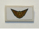 Part No: 85984pb248  Name: Slope 30 1 x 2 x 2/3 with Police Badge and Wings Pattern (Sticker) - Set 60207