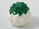 Part No: 87997pb04  Name: Minifigure, Utensil Cheerleader Pom Pom with Green Top Pattern