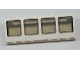 Part No: 89648c01  Name: Window 2 x 8 x 2 Boat with Trans-Black Glass