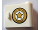Part No: 92263pb003  Name: Door 1 x 3 x 2 Right - Open Between Top and Bottom Hinge (New Type) with 'SPRINGFIELD POLICE' Pattern (Sticker) - Set 71016