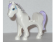 Part No: 93083c01pb06  Name: Horse with 2 x 2 Cutout, Blue Eyes and Face Decoration, Lavender Mane and Tail Pattern