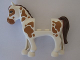 Part No: 93083c01pb10  Name: Horse with 2 x 2 Cutout, Medium Dark Flesh Eyes and Spots, Reddish Brown Mane and Tail Pattern