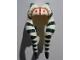 Part No: 93696pb01  Name: Minifigure, Headgear Headdress SW Togruta Montrals Long, Shaak Ti Pattern