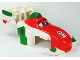Part No: 94898pb01  Name: Duplo Car Body Formula One with Cars Francesco Pattern