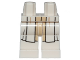 Part No: 970c00pb0763  Name: Hips and Legs with White and Tan SW Jedi Robe Pattern
