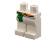 Part No: 970c00pb0967  Name: Hips and Legs with Green Sash and Orange Belt Pattern