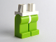 Part No: 970c34  Name: Minifigure, Legs with Hips - Lime Legs