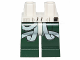 Part No: 970c80pb01  Name: Hips and Dark Green Legs with SW Light Aqua Flight Straps and Hose Pattern