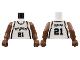Part No: 973bpb134c01  Name: Torso NBA San Antonio Spurs #21 Pattern / Brown NBA Arms