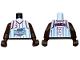 Part No: 973bpb141c01  Name: Torso NBA Houston Rockets #3 Pattern / Brown NBA Arms