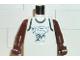 Part No: 973bpb149c01  Name: Torso NBA Minnesota Timberwolves #21 (White Jersey) Pattern / Brown NBA Arms