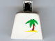 Part No: 973pb0017  Name: Torso Paradisa Palm Tree Pattern