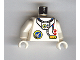 Part No: 973pb0026c01  Name: Torso Space Port Logo, Tube and Two Red Buttons Pattern / White Arms / White Hands