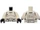 Part No: 973pb0117c01  Name: Torso SW Armor Clone Trooper Pattern / White Arms / Black Hands