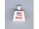 Part No: 973pb0364  Name: Torso NASA and Flag Pattern (Sticker)