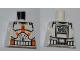 Part No: 973pb0503  Name: Torso SW Armor Clone Trooper with Orange Bars Pattern