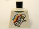 Part No: 973pb0549  Name: Torso Classic Space Minifigure Floating Pattern