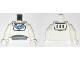 Part No: 973pb0633c01  Name: Torso Star Command Pattern / White Arms / White Hands (Buzz Lightyear)