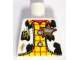 Part No: 973pb0677  Name: Torso Western Outfit Male with Sheriff Star and Dirt Stains Pattern (Woody)