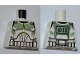 Part No: 973pb0759  Name: Torso SW Armor Clone Trooper with Sand Green Markings Pattern (Clone Wars)