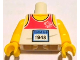 Part No: 973pb1159c01  Name: Torso Tank Top with 'TEAM GB 1948' Pattern / Yellow Arms / Yellow Hands