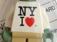 Part No: 973pb1434c01  Name: Torso SW Shirt with 'NY I' Heart Pattern (Yoda) / White Arms / Sand Green Hands