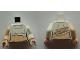 Part No: 973pb1518c01  Name: Torso SW Female Torn Shirt Pattern (Padme Amidala) / White Arm Left / Light Nougat Arm Right / Light Nougat Hands