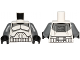 Part No: 973pb1564c01  Name: Torso SW Armor Clone Trooper with Dark Bluish Gray Markings Pattern / Dark Bluish Gray Arms / Black Hands