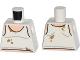 Part No: 973pb1661  Name: Torso Tank Top with Dark Tan Stains Pattern