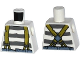 Part No: 973pb1909  Name: Torso Town Prisoner Shirt with Prison Stripes and Suspenders Pattern
