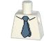 Part No: 973pb2001  Name: Torso Simpsons Shirt with Dark Bluish Gray Tie Pattern