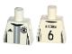 Part No: 973pb2376  Name: Torso Soccer Shirt with adidas Logo, 4 Stars and Eagle Front, 'KHEDIRA 6' Back Pattern