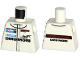 Part No: 973pb2449  Name: Torso Race Suit with 'PORSCHE DMG MORI' and Mobil 1 Logo Pattern
