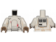 Part No: 973pb3345c01  Name: Torso SW Armor Range Trooper Pattern / White Arms / Dark Tan Hands