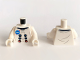 Part No: 973pb3631c01  Name: Torso Spacesuit with NASA Logo Pattern / White Arms / White Hands