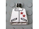 Part No: 973px124  Name: Torso Race Two Stars Jacket Pattern