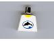 Part No: 973px38  Name: Torso Divers Dolphin Logo Pattern