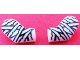 Part No: 981982pb005  Name: Arm, (Matching Left and Right) Pair with Mummy Bandages Pattern