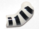 Part No: 981pb004  Name: Arm, Left with 4 Black Stripes Pattern