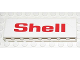 Part No: BA009pb06  Name: Stickered Assembly 8 x 1 x 2 with 'Shell' Large Pattern on Both Sides (Stickers) - Set 6371 - 2 Bricks 1 x 8