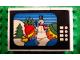 Part No: BA052pb01  Name: Stickered Assembly 6 x 2 x 3 1/3 with Snowman and Children on TV Screen Pattern (Sticker) - Set 264-1 - 3 Bricks 2 x 4, 3 Bricks 2 x 2, 3 Tiles 2 x 2